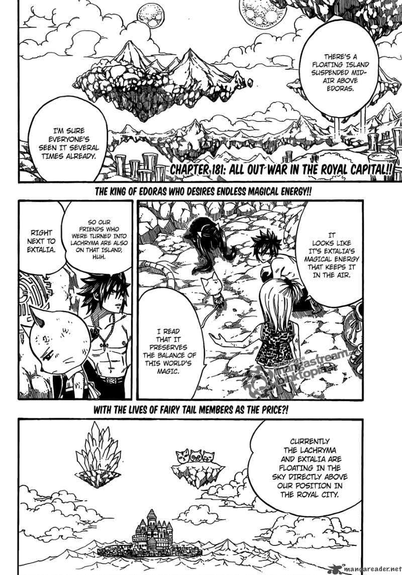 Fairy Tail - Chapter 181